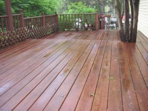 Revived Wood Deck