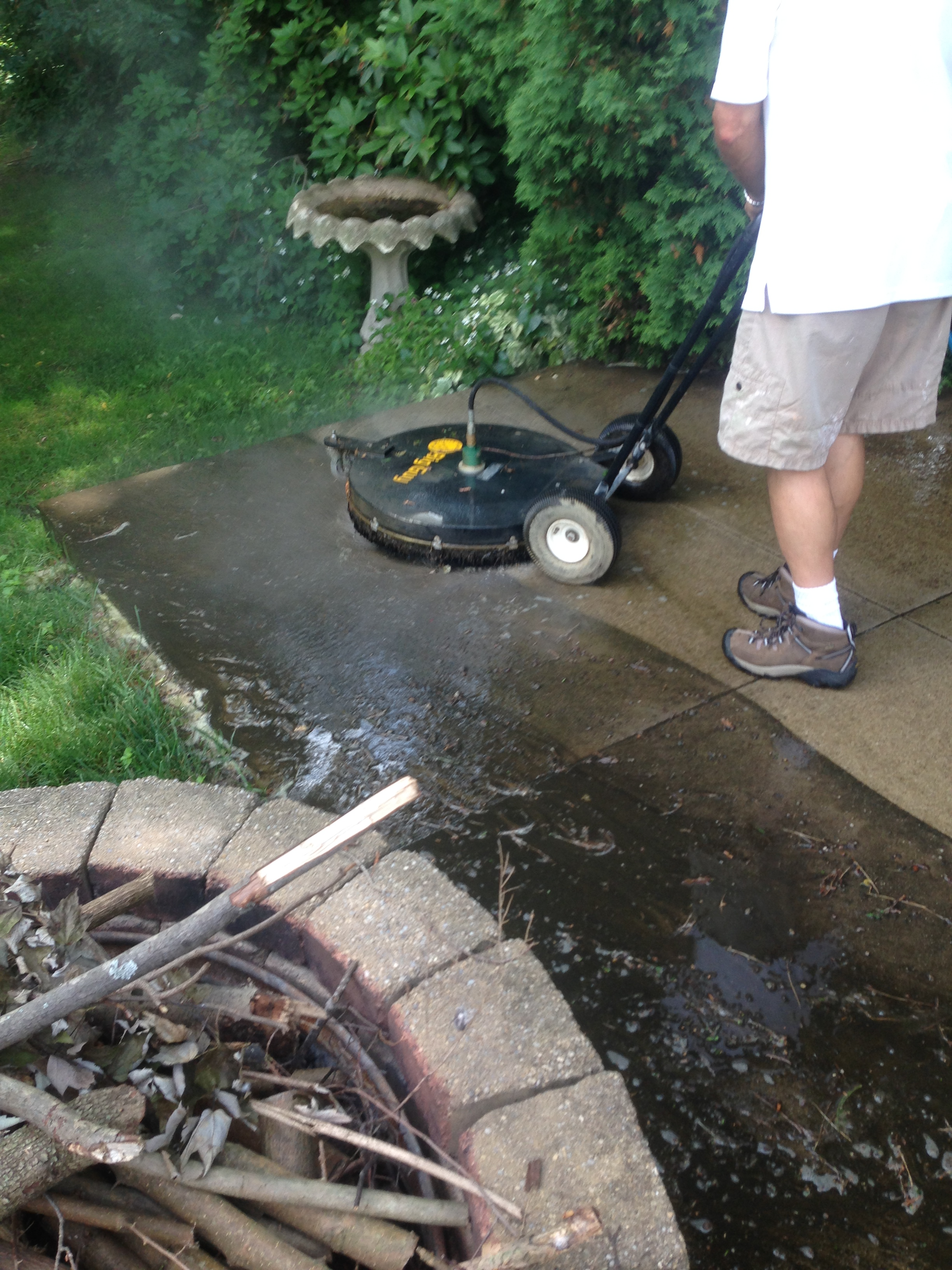 Hot Shot Power Wash Washing Everything